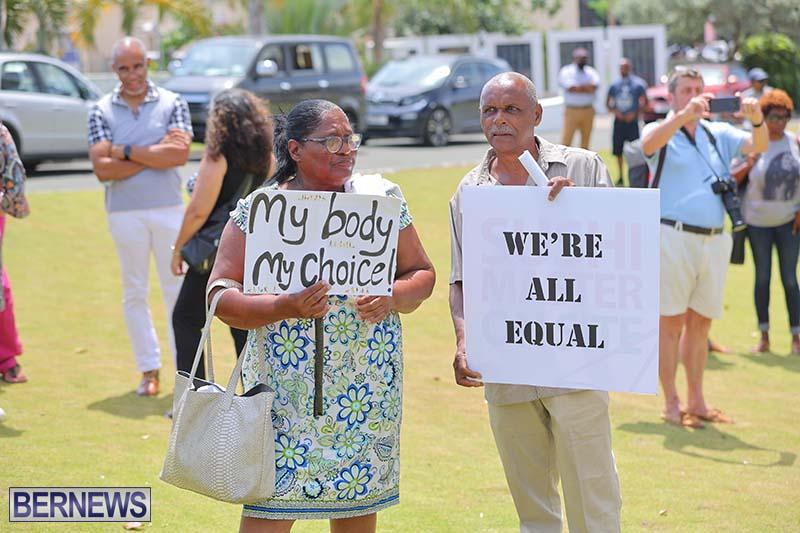 June 2021 Bermuda Protest at Cabinet  (5)
