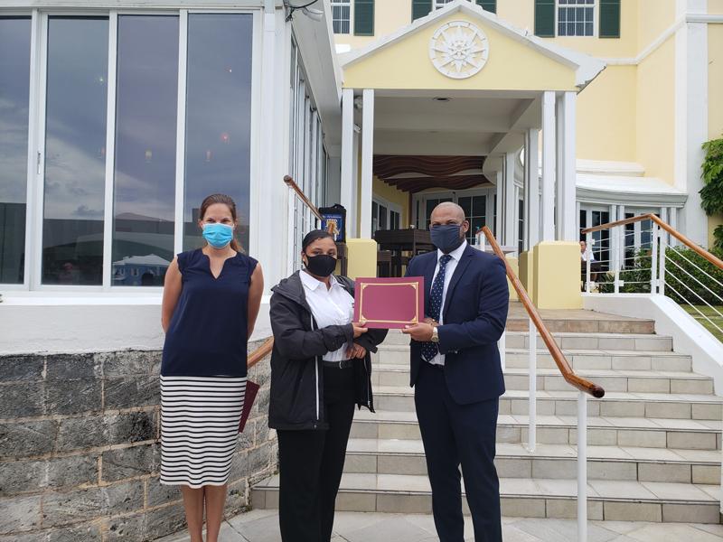 Kaysia Bean Simmons Bermuda June 2021