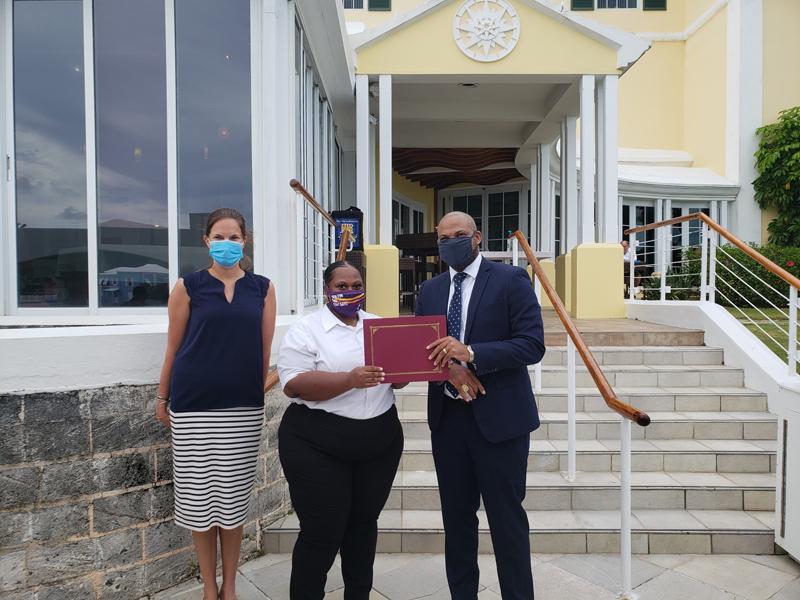 Latifah Allen Bermuda June 2021