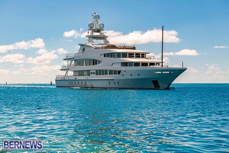 Lucky Lady Super Yacht Bermuda June 2021 2