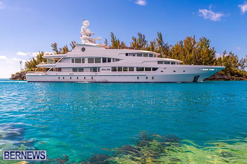 Lucky Lady Super Yacht Bermuda June 2021 3