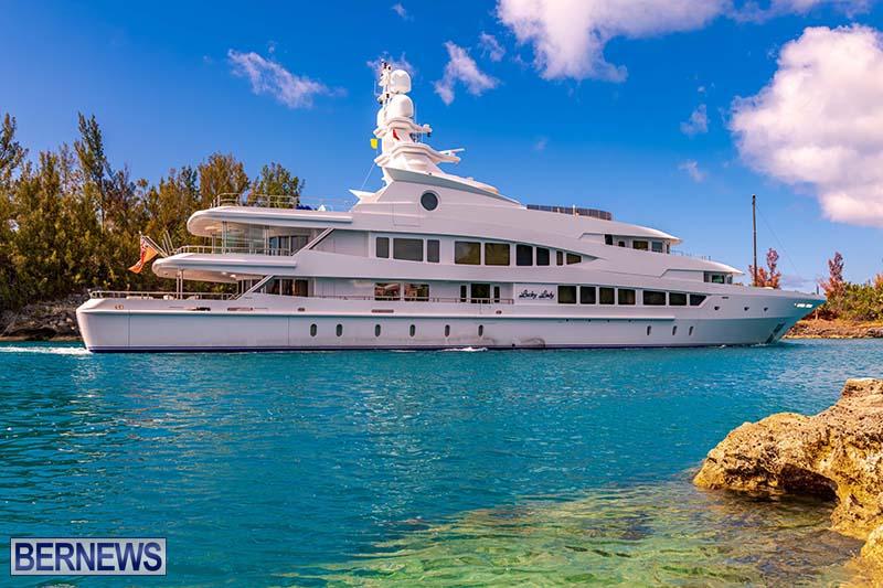 Lucky Lady Super Yacht Bermuda June 2021 4