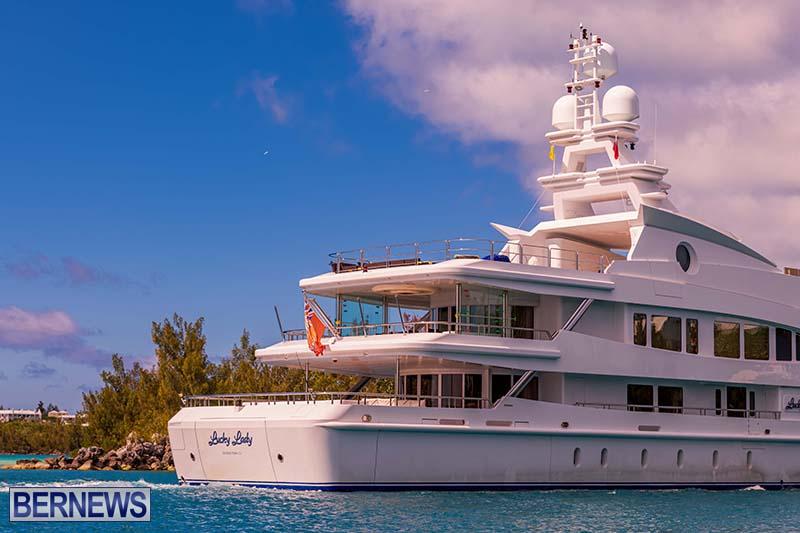 Lucky Lady Super Yacht Bermuda June 2021 5
