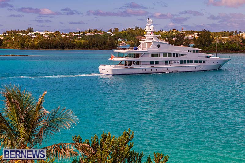 Lucky Lady Super Yacht Bermuda June 2021 6
