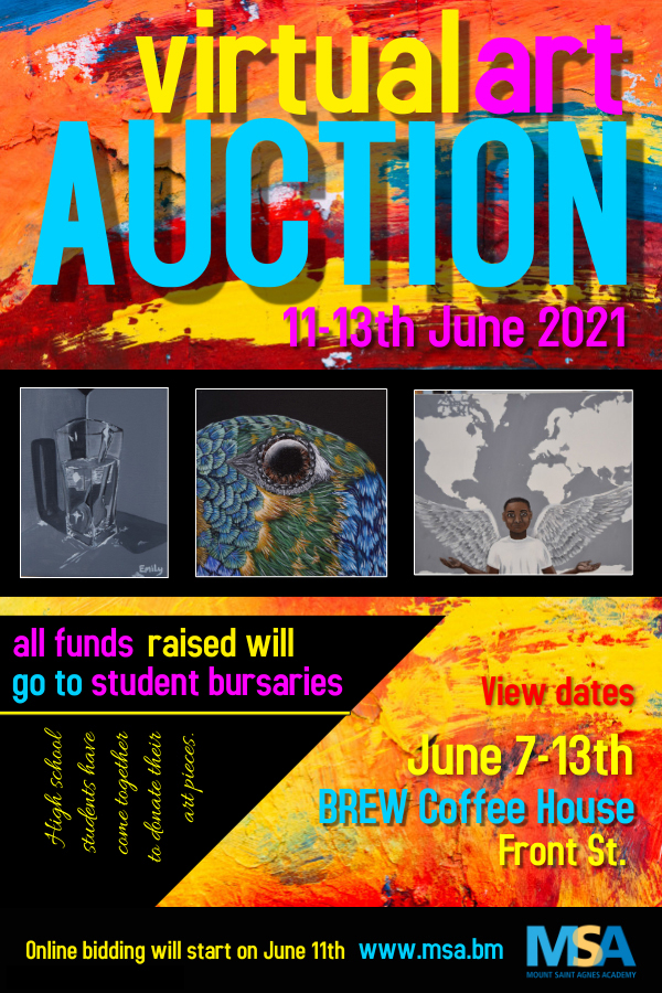 MSA First Virtual Art Auction Bermuda June 2021 2