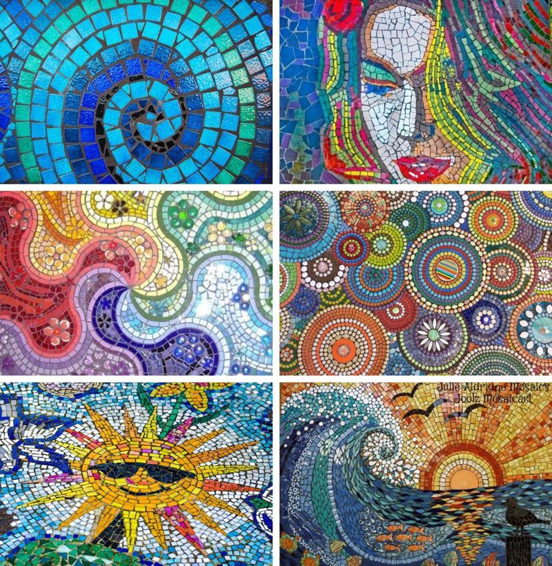 Mosaics from around the world June 2021