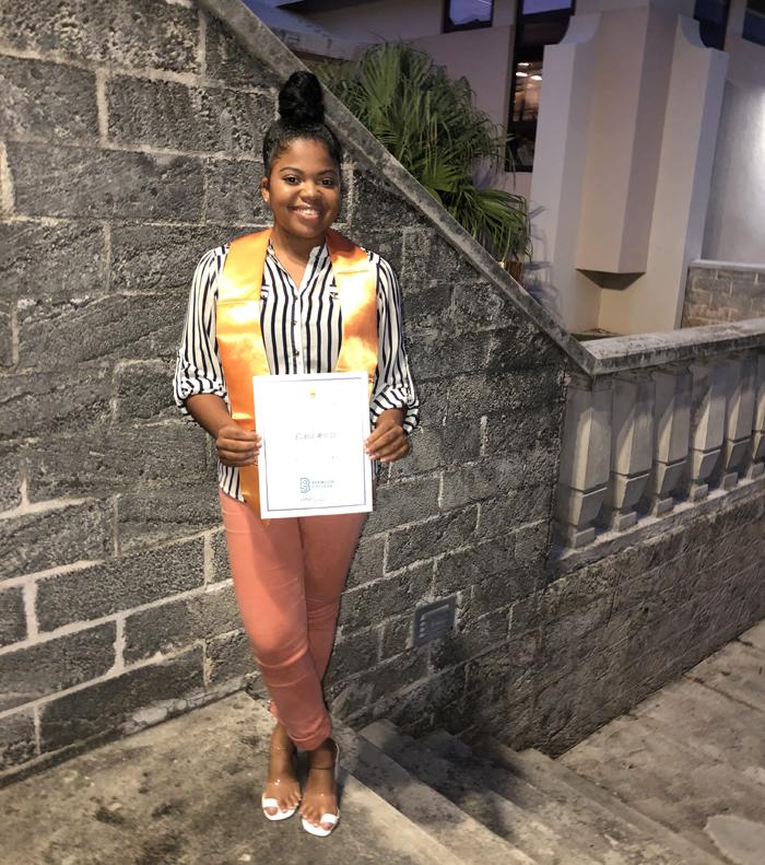 Nisha Smith Bermuda June 2021