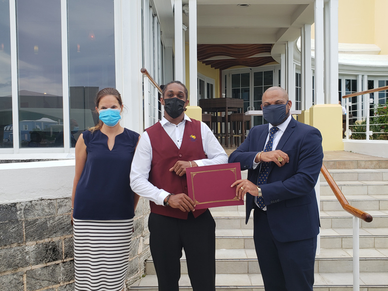 Omar Ratteray Bermuda June 2021