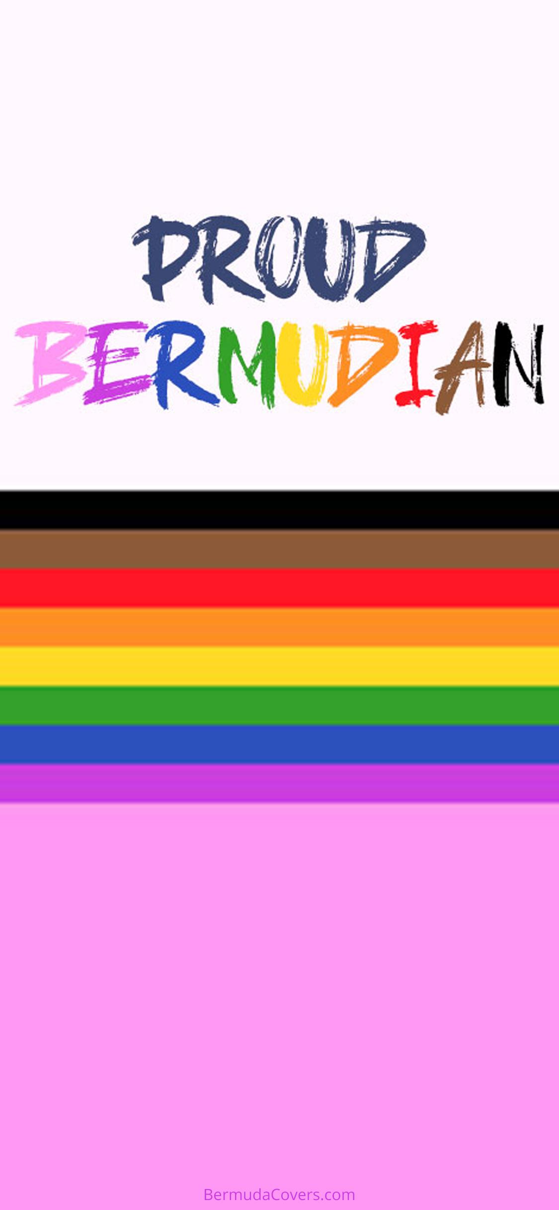 Proud Bermudian Bermuda Bernews Mobile phone wallpaper lock screen design image photo af3eere