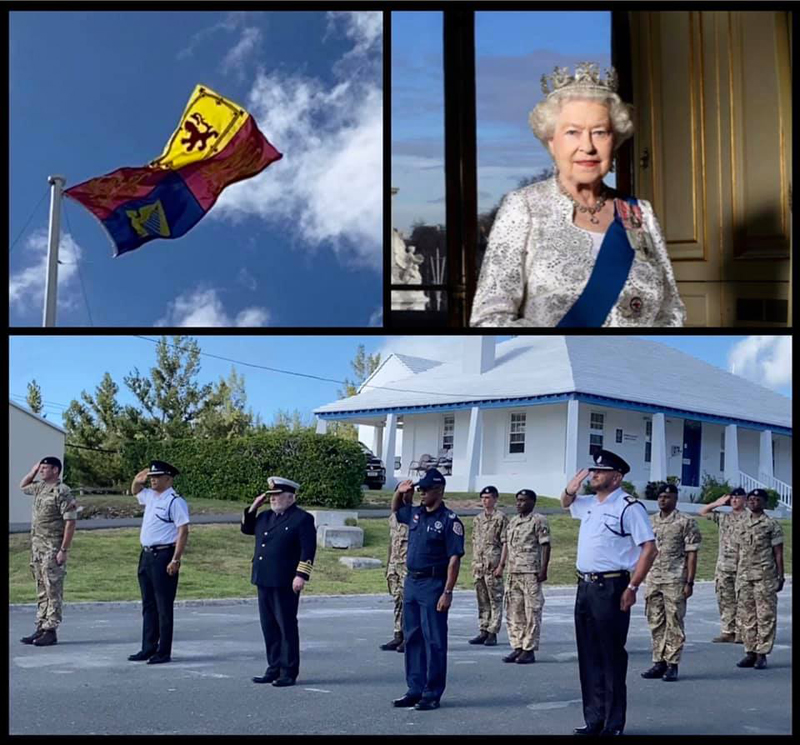 RBR, BPS, Customs Dept & BFRS Paid Tribute Bermuda June 2021 (1)