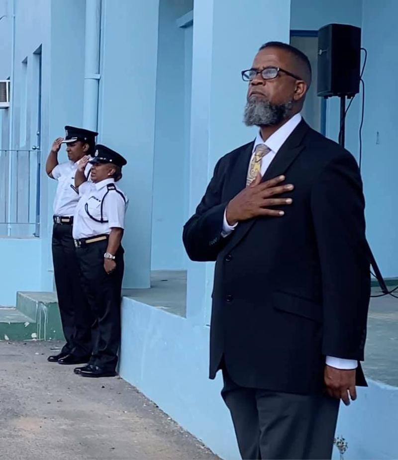 RBR, BPS, Customs Dept & BFRS Paid Tribute Bermuda June 2021 (3)