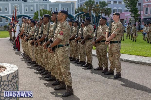 RBR Royal Bermuda Regiment Freedom of City JUne 26 2021 (10)