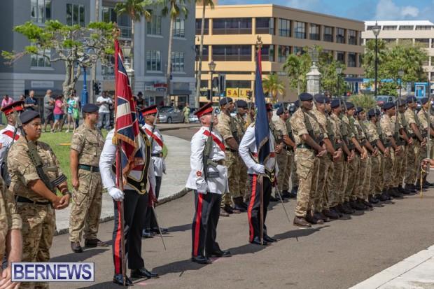 RBR Royal Bermuda Regiment Freedom of City JUne 26 2021 (15)