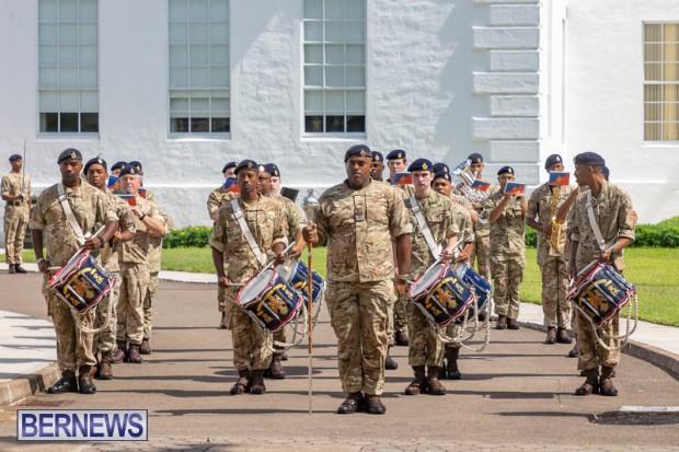 RBR Royal Bermuda Regiment Freedom of City JUne 26 2021 (2)