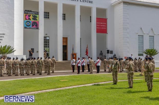 RBR Royal Bermuda Regiment Freedom of City JUne 26 2021 (3)