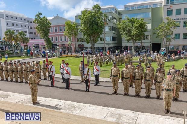 RBR Royal Bermuda Regiment Freedom of City JUne 26 2021 (4)