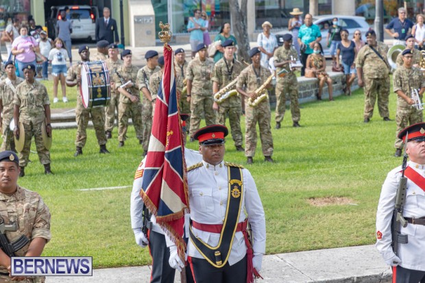RBR Royal Bermuda Regiment Freedom of City JUne 26 2021 (6)