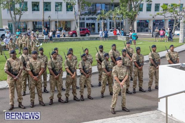 RBR Royal Bermuda Regiment Freedom of City JUne 26 2021 (7)