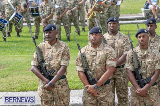 RBR Royal Bermuda Regiment Freedom of City JUne 26 2021 (8)