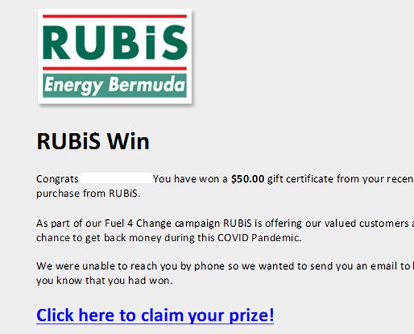 RUBiS Energy Bermuda June 2021
