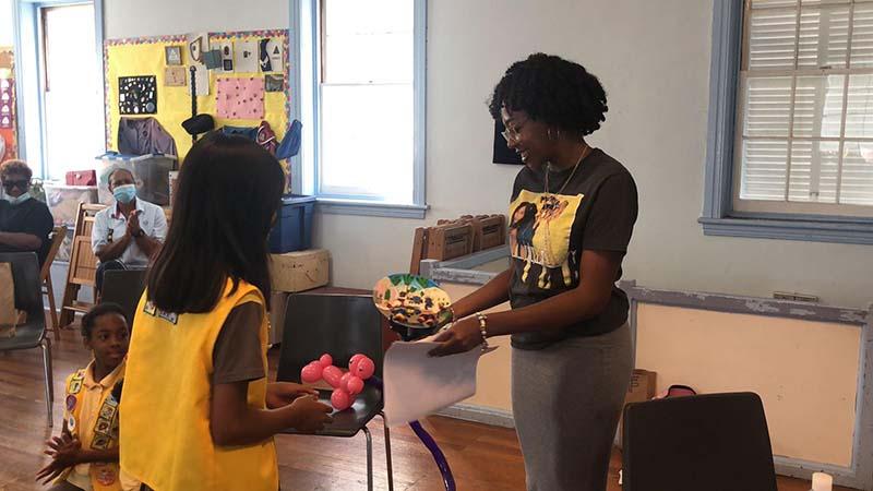 Rotary Youth & Bermuda Girlguides June 2021 3