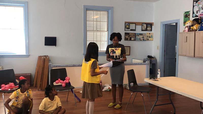Rotary Youth & Bermuda Girlguides June 2021 4