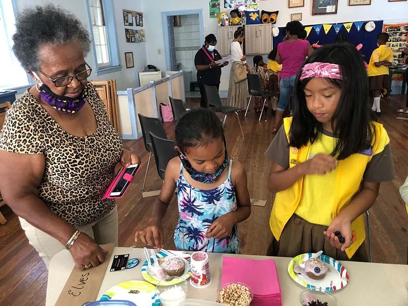 Rotary Youth & Bermuda Girlguides June 2021 5