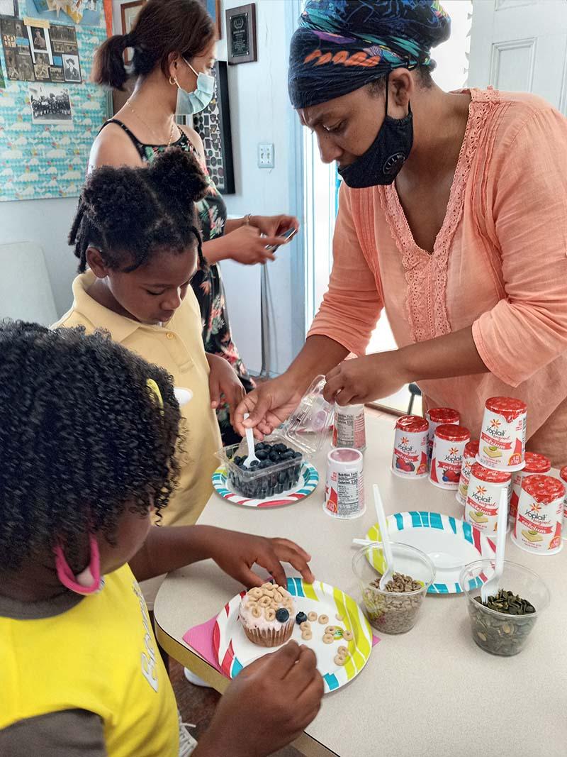 Rotary Youth & Bermuda Girlguides June 2021 6