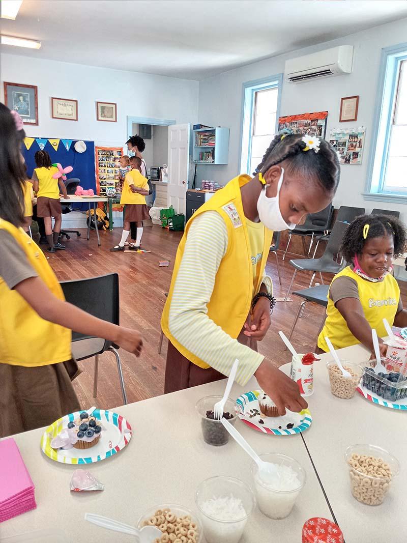Rotary Youth & Bermuda Girlguides June 2021 7