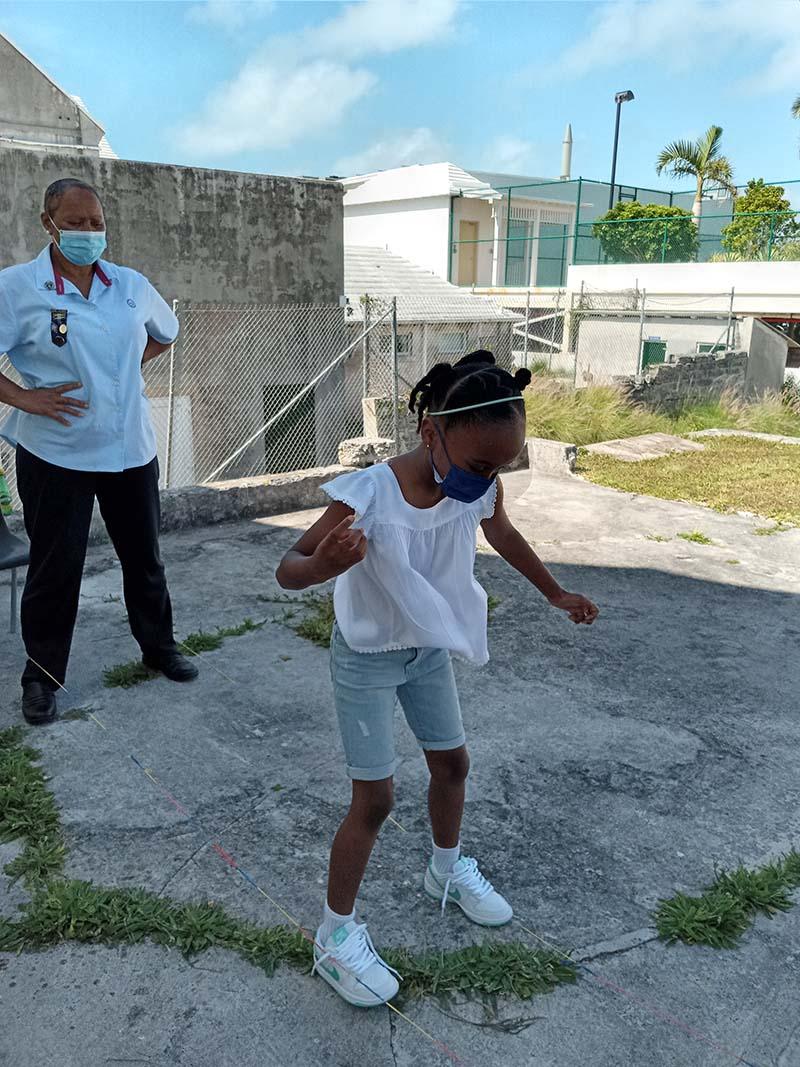 Rotary Youth & Bermuda Girlguides June 2021 9