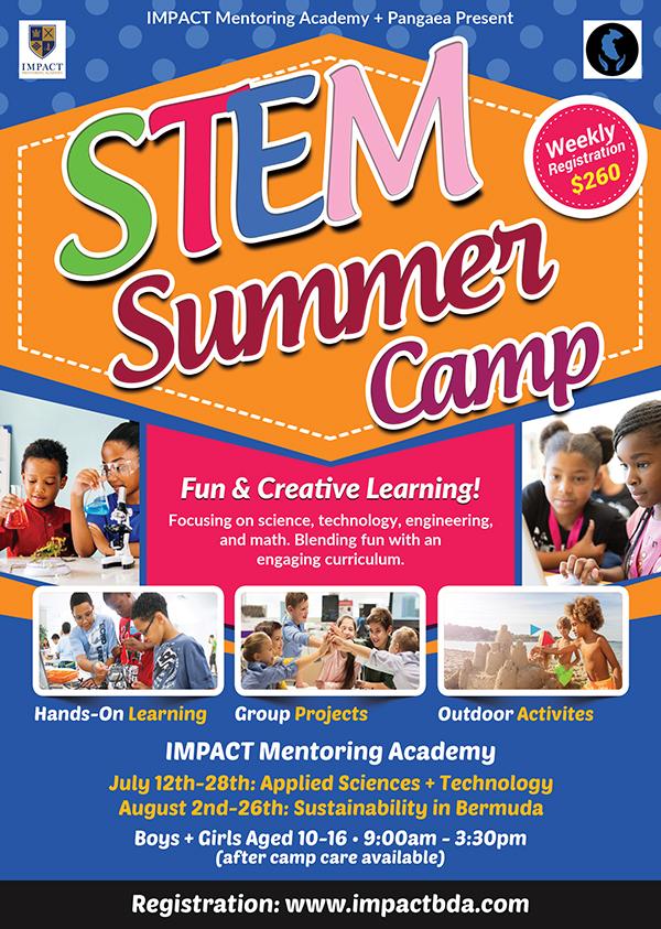STEM Summer Camp Bermuda June 25 2021
