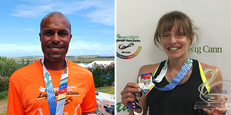 Shannon Lawrence & Gayle Lindsay Bermuda June 2021