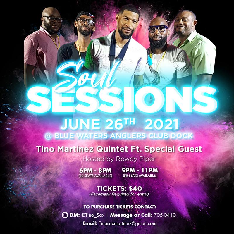 Tino Martinez Quintet Soul Sessions Bermuda June 2021