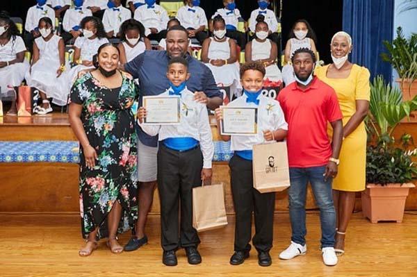Victor Scott Primary School Graduation Bermuda June 2021 5