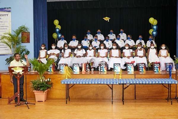 Victor Scott Primary School Graduation Bermuda June 2021 7