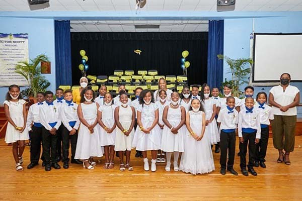 Victor Scott Primary School Graduation Bermuda June 2021 8