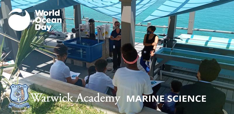 Warwick Academy World Ocean Day Bermuda June 2021 (1)