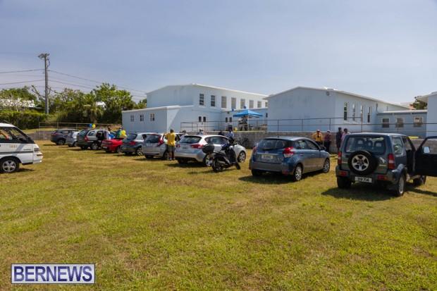 motorcade Bermuda June 20 2021