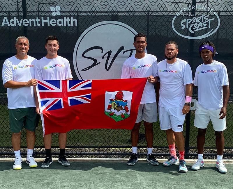 Bermuda's Davis Cup Team June 2021
