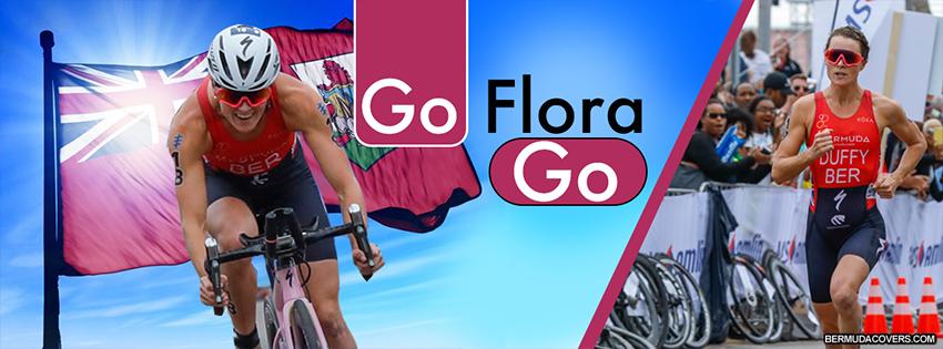 Bermuda Athlete Flora Duffy Facebook Cover Photo 1