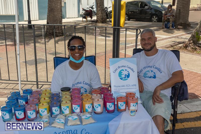 Bermuda Court Street Market July 25 2021 photos DF (30)