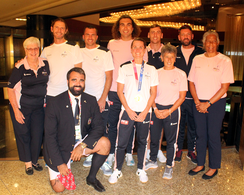 Bermuda Olympics Team July 2021
