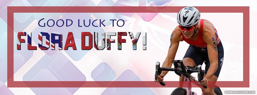 Bermuda Triathlete Facebook Cover Flora Duffy Timeline Cover Graphic