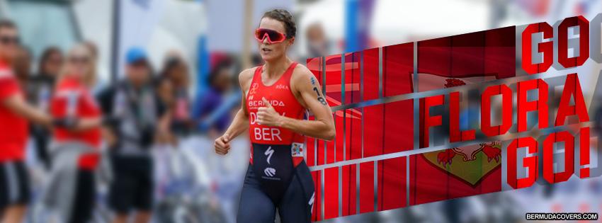 Bermuda Triathlete Facebook Cover Flora Duffy
