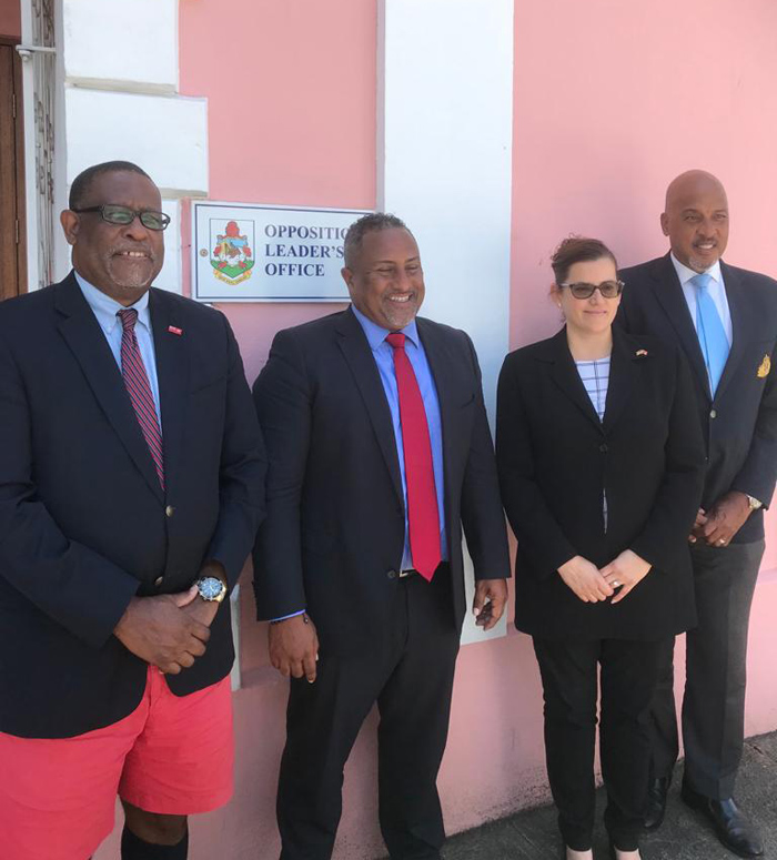 Bermuda's contributions highlighted to US Consul General July 2021