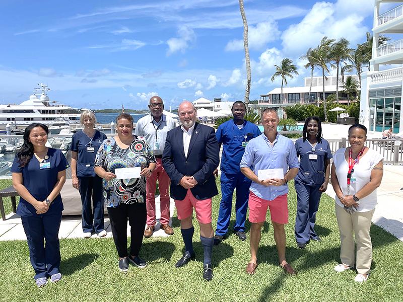 Blood Donor Winners Bermuda July 9 2021