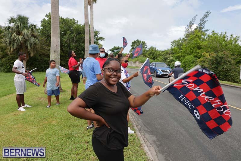 Camp Paw Paw Cup Match Greetings Bermuda July 2021 3