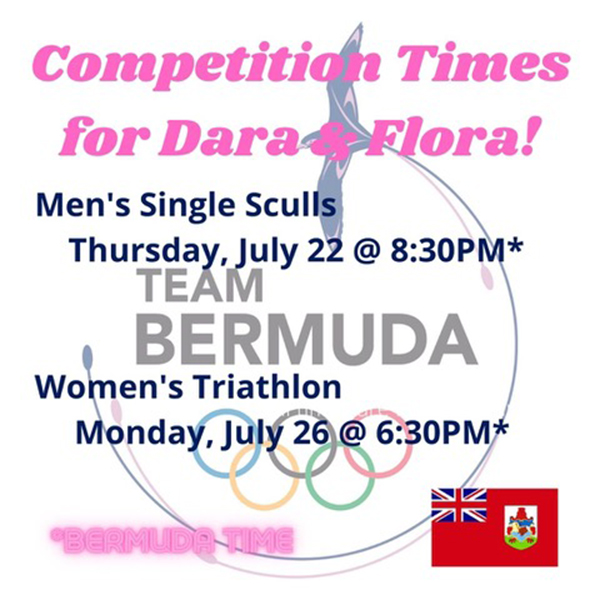 Competition Times for Dara & Flora!