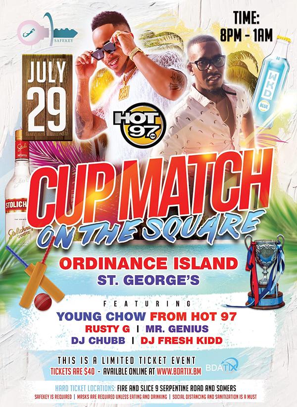 Cup match Bermuda July 19 2021