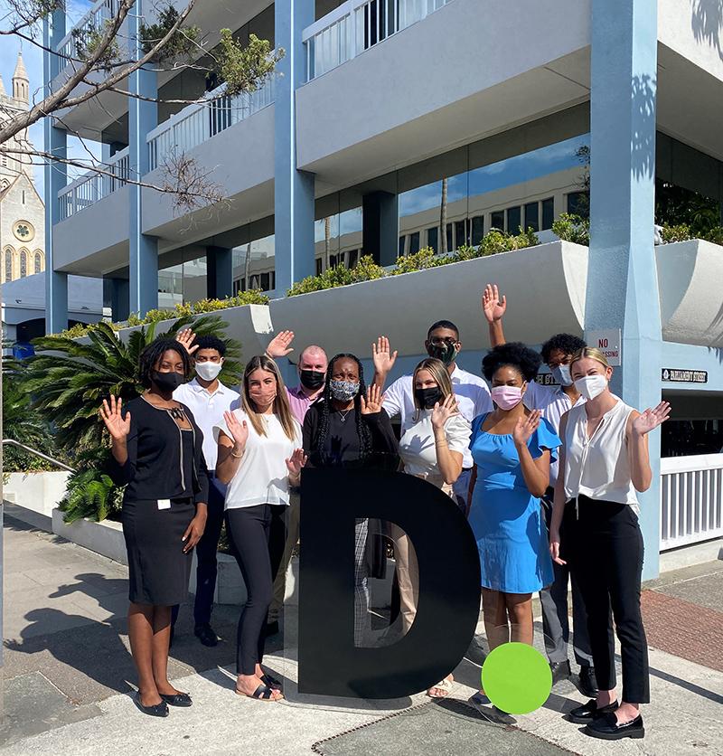 Deloitte Bermuda Interns July 2021